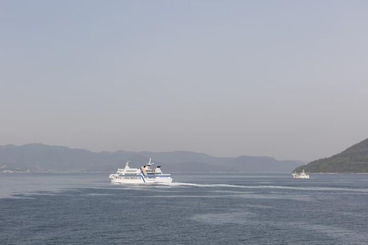 小豆島にて企業HP撮影